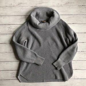 Michael Kors Gray Cowl Neck Sweater